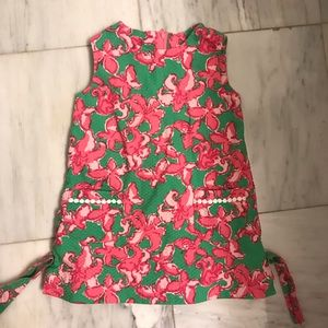 LILLY PULITZER toddler shift in All a Flutter 2